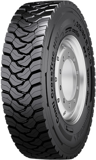 CONTINENTAL CONTI CROSSTRAC HD3 13 R 22.5